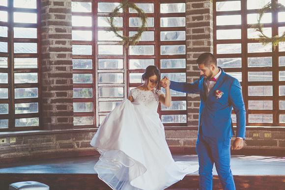 Fotografia de bodas restaurante la granja salamanca